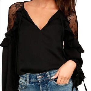 Tops - New without tag Cold shoulder top